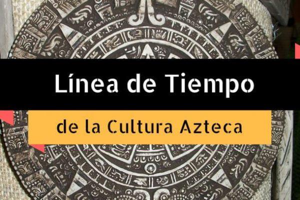 linea de tiempo cultura azteca
