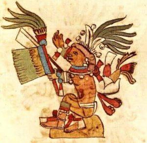 Centeotl dioses aztecas