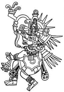 Dibujos azteacs