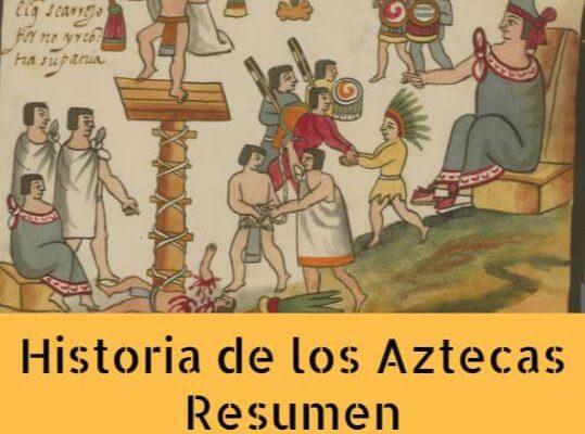 Resumen historia azteca
